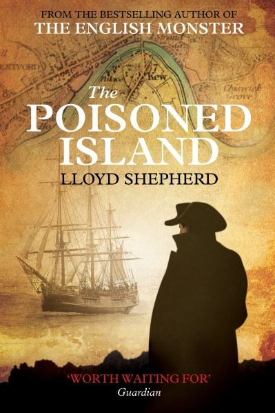 Poisoned Island Hardback Front