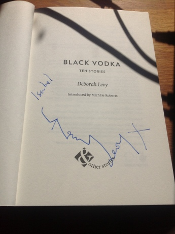 Black Vodka signing