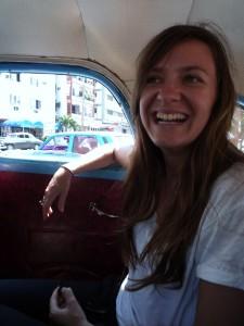 Naomi Wood in Cuba