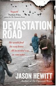 Devastation Road hardback jacket SOA