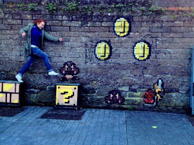 3. Mario Graffiti