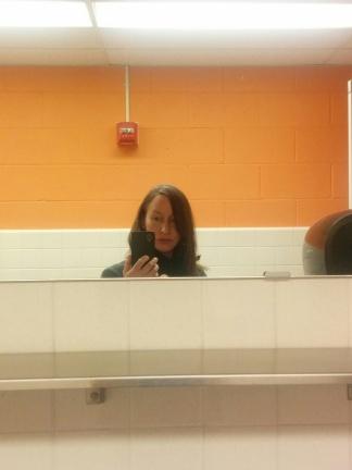 Joanna Walsh selfie