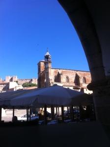 Landscape Extremadura Trujillo