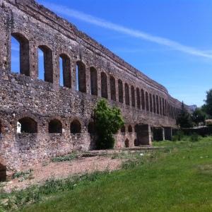 Roman Aqueduct, Merida May 2014