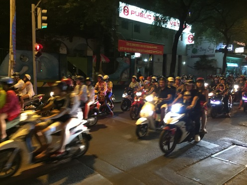 Saigon mopeds