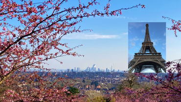 3. Nothing like Paris in Springtime