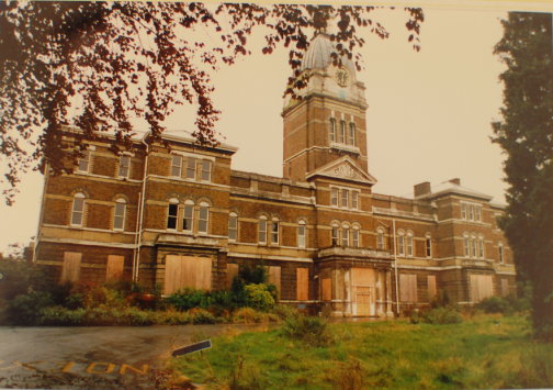 Banstead hospital, the first to close in the UK 1986