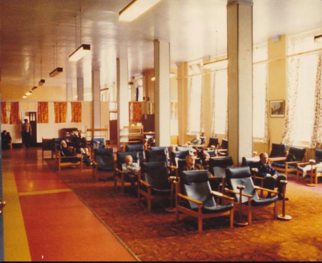 residents' lounge, Prestwich
